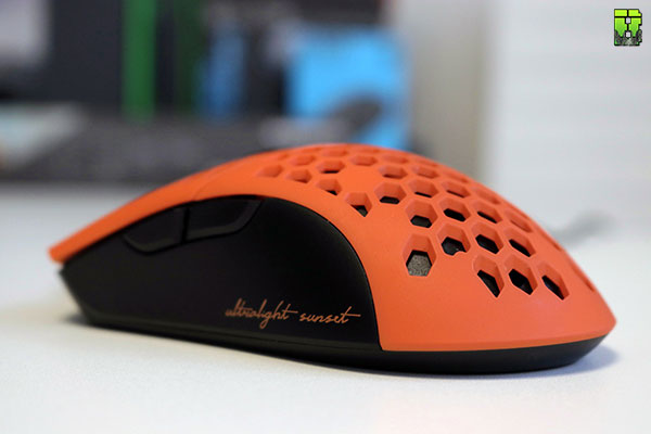 FinalMouse UltraLight SunSet Review Gaming Mouse   Beardedbob